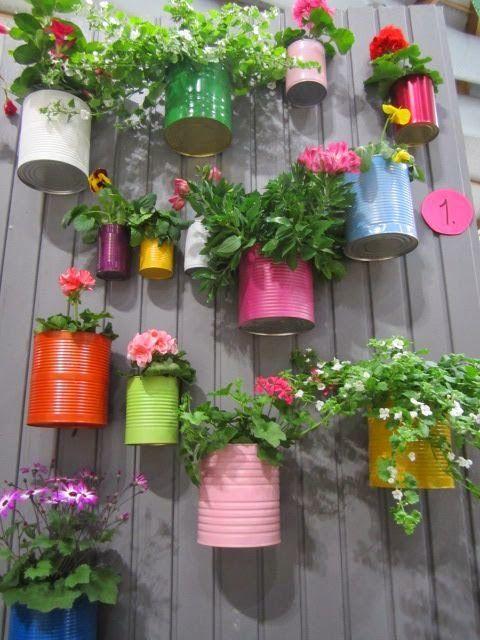 tin plant fence